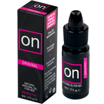 ON Natural Arousal Oil by Sensuva .17 fl oz - Original
