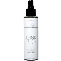 Think Clean Thoughts Anti-Bacterial Toy Cleaner by Sensuva 4.2 fl oz
