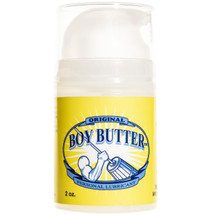Boy Butter Oil Based Personal Lubricant Original Formula 2 oz