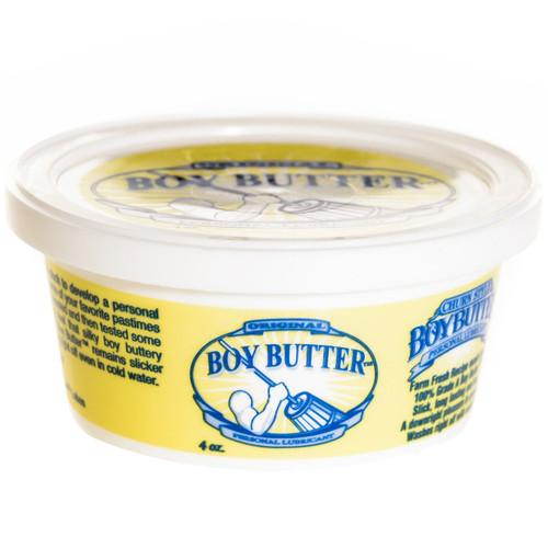 Boy Butter Oil Based Personal Lubricant Original Formula 4 oz