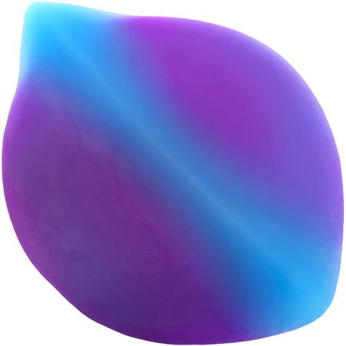 Sili Saddle Super-Soft Vulvar Stimulator & Strap-On Play Bumper Pad - Blue & Purple
