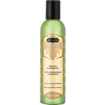 Kama Sutra Naturals Massage Oils Vanilla Sandalwood 8 fl oz