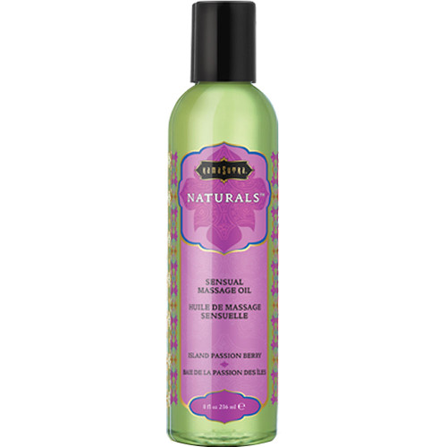 Kama Sutra Naturals Massage Oils Island Passion Berry 8 fl oz
