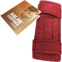 Aslan Double Up Dildo Cuffs - Cherry