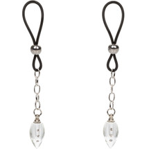 Nipple Play Non-Piercing Nipple Jewelry Crystal Teardrops by CalExotics