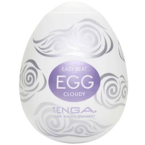 Tenga Egg Penis Masturbator - Cloudy