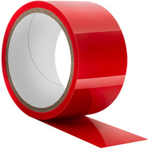 Temptasia Bondage Tape 60 Feet By Blush Novelties - Red