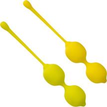Lemon Silicone Kegel Training Set By CalExotics