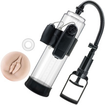 Performance VX4 Male Enhancement Penis Pump System By Blush - Clear