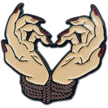 "Bound By Love 1.5"" Soft Enamel Pin By Geeky And Kinky"