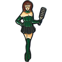 "Mistress Daria 2"" Soft Enamel Pin By Geeky And Kinky"
