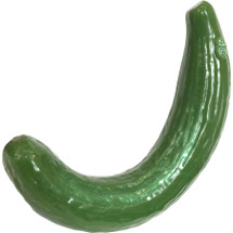 Curved Cucumber Silicone Dildo By SelfDelve