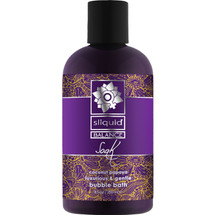 Sliquid Soak Luxurious Gentle Bubble Bath Coconut Papaya 8.5 fl oz