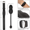 Wristband Remote Ultra-Soft Silicone Vibrating Kegel System by CalExotics