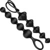 Satisfyer Love Beads Silicone Anal Beads - Set Of 2 - Black