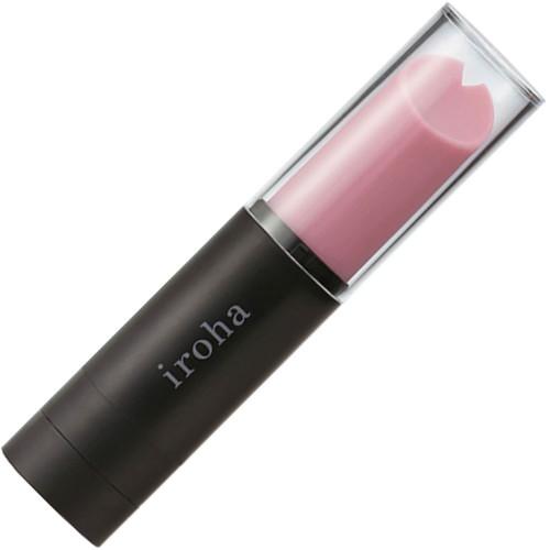 Iroha Stick Silicone Waterproof Lipstick Vibrator - Lilac & Black