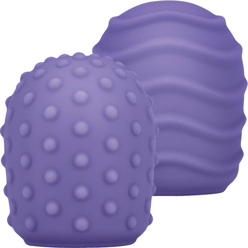Le Wand Petite Silicone Texture Covers - 2 Piece Set