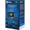 b-Vibe Vibrating Snug Plug Large Rechargeable Vibrating Anal Toy - Navy