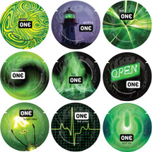 ONE Condoms Glowing Pleasures Collection - Glow In The Dark Singles
