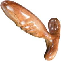 NobEssence Dibber Sculptured Hardwood G-Spot Dildo