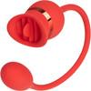 French Kiss Casanova Vibrating Silicone Clitoral Stimulator & Vibrating Bullet by CalExotics
