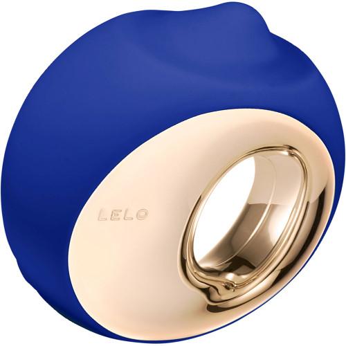 LELO ORA 3 Vibrating Rotating Oral Sex Stimulator - Midnight Blue