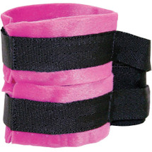 Kinky Pinky Cuffs And Tethers By Sportsheets - Pink