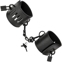 Sex And Mischief Shadow Locking Cuffs Set By Sportsheets