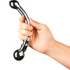 Le Wand Bow Solid Stainless Steel, Double-Sided Dildo