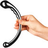 Le Wand Hoop Solid Stainless Steel, Double-Sided Dildo