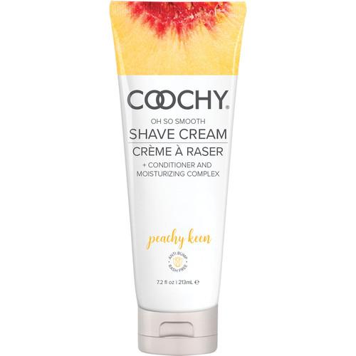 COOCHY Oh So Smooth Shave Cream - Peachy Keen 7.2 oz (213 mL)