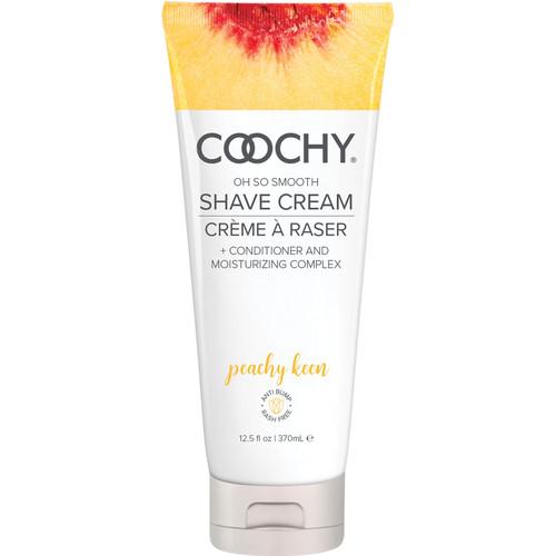 COOCHY Oh So Smooth Shave Cream - Peachy Keen 12.5 oz (370 mL)