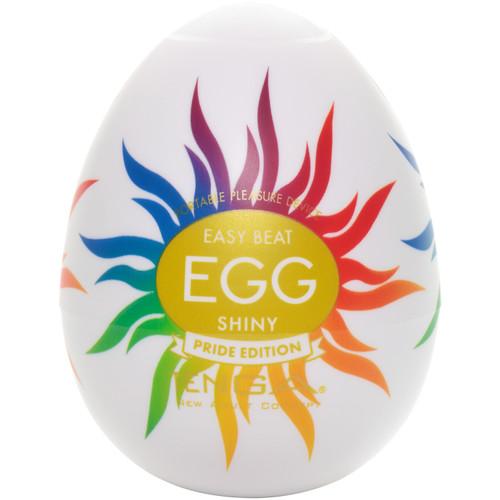 Tenga Egg Penis Masturbator - Shiny Pride Edition