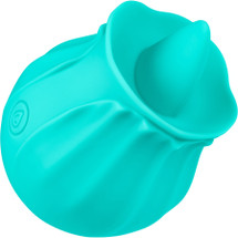 Cloud 9 Flutter Rechargeable Oral Tongue Stimulator - Teal