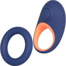 Link Up Verge Silicone Rechargeable Vibrating Cock Ring By CalExotics