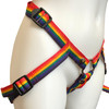 """Inclusion Rainbow Strap-On Harness - Size A Fits Hips Up To 54"""""""