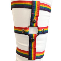 Inclusion Rainbow Thigh Harness - Size B Fits Thighs Up To 40""