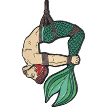 "Deep Dive Merman 2"" Soft Enamel Pin By Geeky And Kinky"