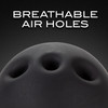 Noir Breathable Silicone Ball Gag By Blush - Black