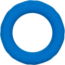 Link Up Ultra-Soft Max Silicone Cock Ring By CalExotics - Blue