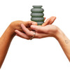 Ohnut Intimate Wearable Penetration Buffer, Set Of Three Body Safe Rings - Aloe