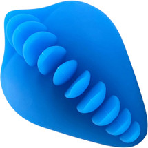 Shagger Soft Silicone Dildo Base Stimulation Cover For Harness Play - Azure