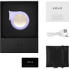 LELO Sila Waterproof Rechargeable Pleasure Air Clitoral Stimulator - Lilac
