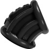 Oxballs Bent-1 Silicone Curved Ball Stretcher 2.25 Inch - Black