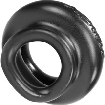 Oxballs Juicy Pumper Silicone Cock Ring 3.5 Inch - Black