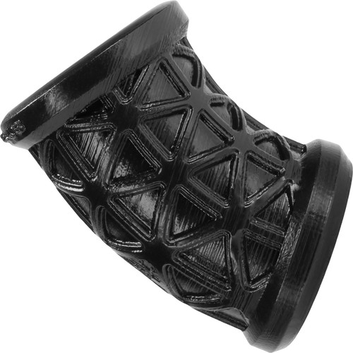 Oxballs Morph Curved Silicone Ball Stretcher - Black