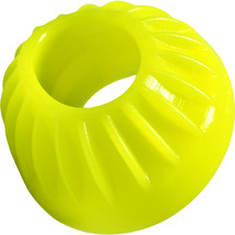 Oxballs Turbine Silicone Cock Ring 1.75 Inches - Yellow