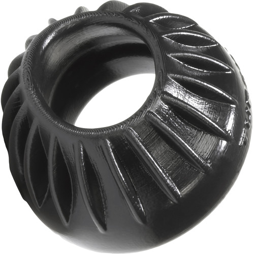 Oxballs Turbine Silicone Cock Ring 1.75 Inches - Black
