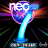 Neo Elite Glow In The Dark 7.5 Inch Dual Density Realistic Silicone Dildo by Blush - Neon Blue