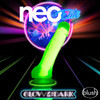 Neo Elite Glow In The Dark 7.5 Inch Dual Density Realistic Silicone Dildo With Balls by Blush - Neon Green